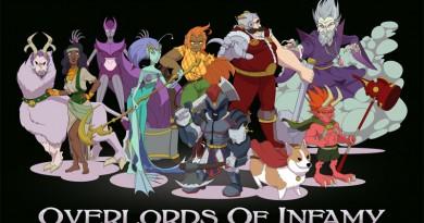 Portada de Overlords of infamy