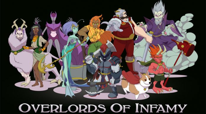 Portada de Overlords of infamy