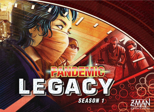 Portada de Pandemic Legacy