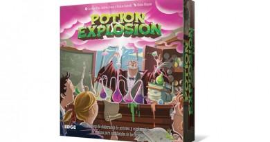 Portada de la edición de edge de potion explosion