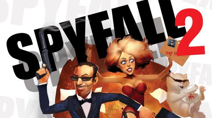 Extracto de la portada de Spyfall 2