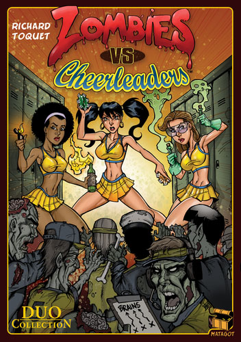 Portada de Zombies vs Cheerleaders