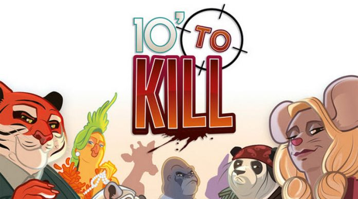 Fragmento d ela portada de 10 minutes to kill