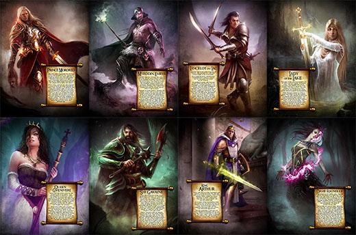 Personajes de Albion's Legacy