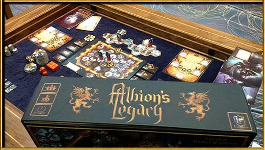 Componentes de Albion's Legacy