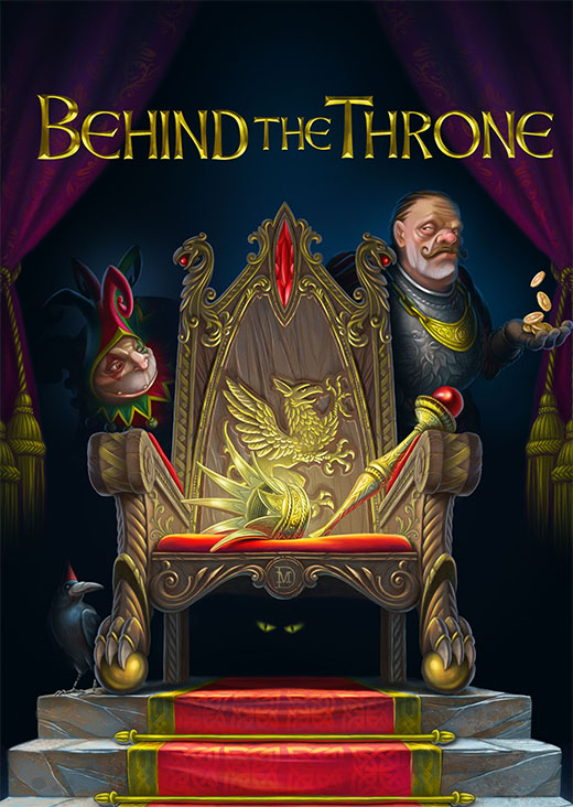 Portada de Behind the throne