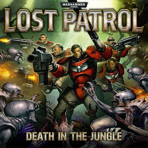 Portada de la nueva edición de lost patrol