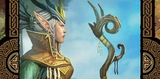 Detalle de la portada de Mystic Vale