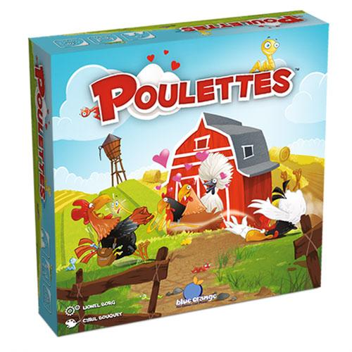 Portada del juego de mesa Poulettes