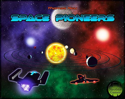Portada de Space Pioneers