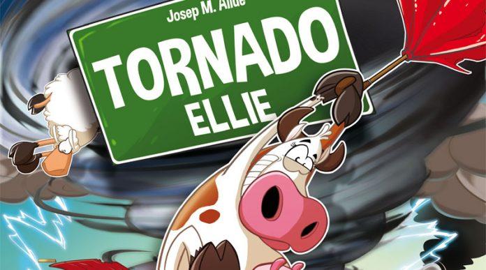 Fragmento de la portada de Tornado Ellie