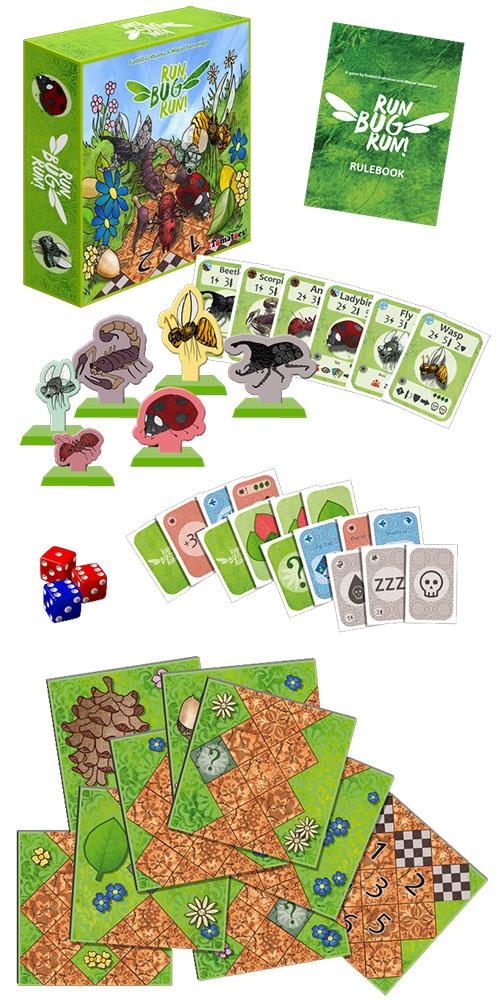 Run Bug Run Componentes