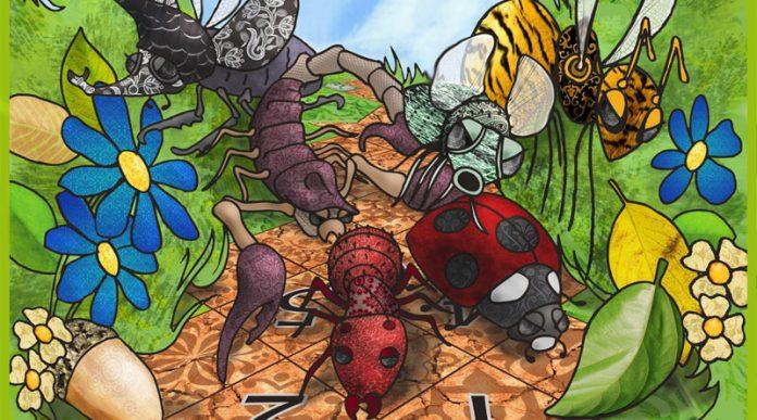 Run Run Bug Ilustración de la portada