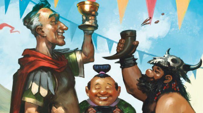 Ilustracion de la portada de Colonos del imperio 3 es un número mágico