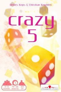 Portada de Crazy 5 de Strawberry Studio la nueva editorial de NSKN Games