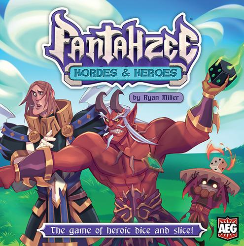 Portada de Fantahzee hordes and heroes