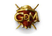 Logotipo de GDm editora de Dragons