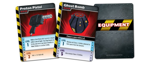 Cartas de equipo de Ghostbuster the boardgame 2