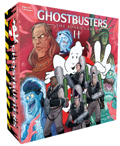 Caja de Ghostbuster the boardgame 2