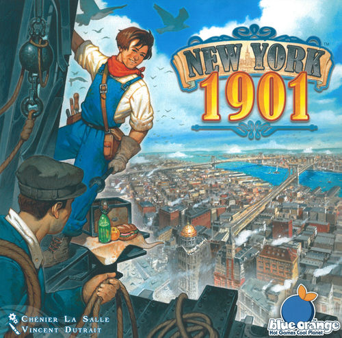 Portada de New York 1901 ganador del Mensa Select 2016