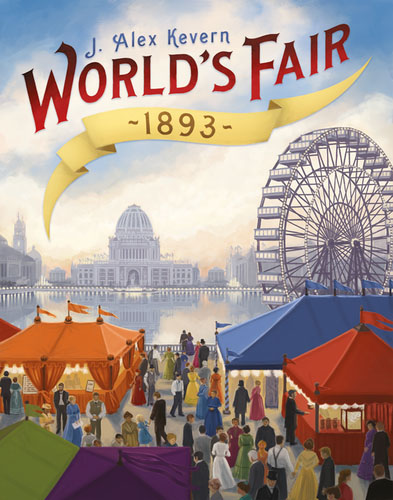 Portada del ganador del mensa select 2016 World's fair 1893