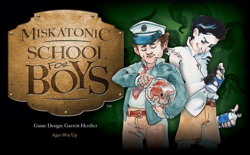 Portada de Miskatonic School for Boys