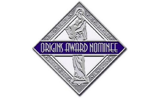 Logotipo de los nominados a los origins Award