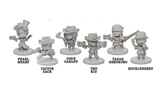 Miniaturas de Rail raiders Infinity