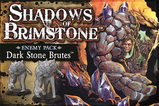 Dark Stone Brutes enemy pack de Shadows of Brimstone