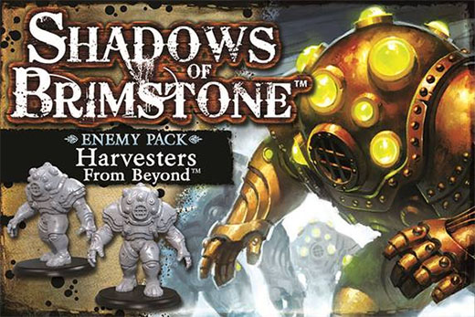 Harvester from beyond enemy pack de Shadows of Brimstone