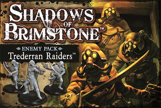 Trederran Raiders enemy pack de Shadows of Brimstone