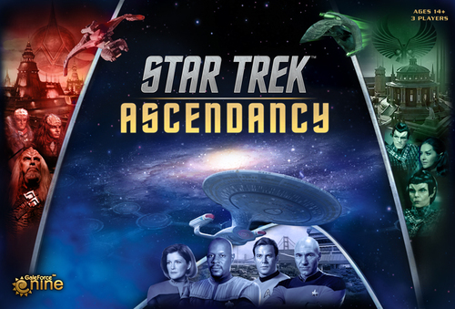 Portada de Star Trek Ascendancy
