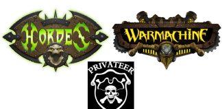 Logos de privateer press warmachine y hordes