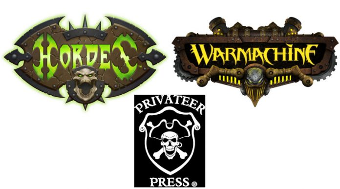 Logos de privateer press warmachine y hordes