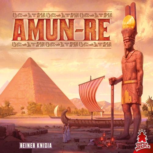 Portada de la nueva edición de Amun-Re publicado por Maldito games