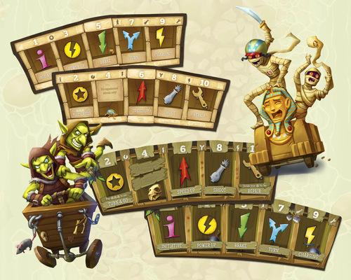 Cartas de Crazy karts
