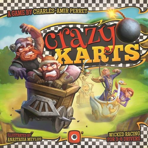 Portada de Crazy Karts