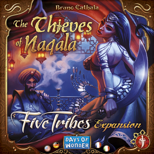 Portada de Five Tribes The Thieves of Naqala