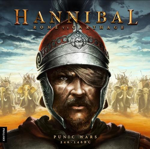 Portada de la nueva edición de Hannibal Rome versus Carthage