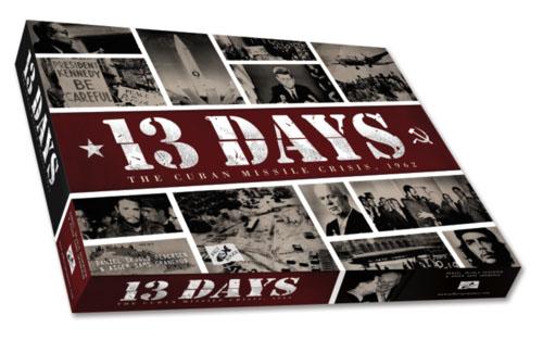 Portada de 13 Days: The Cuban Missile Crisis próxima novedad de Ludonova