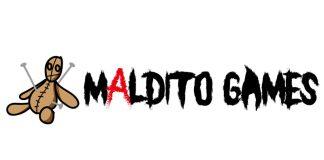 Logotipo de maldito games
