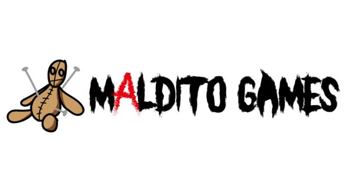 Logotipo de maldito games