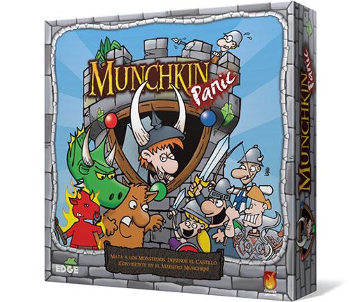 Portada de Munchkin Panic