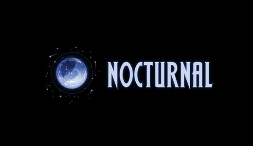 logotipo de nocturnal media