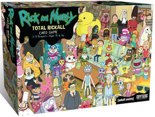 Portada de Rick and Morty Total Rickall
