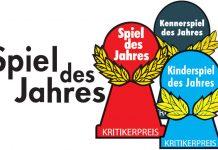 Logotipo de los nominados al spiel des jhares 2016