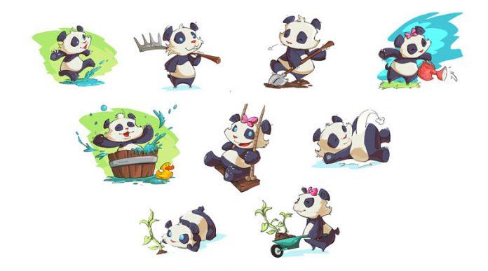 Los bebes panda vuelven con takenokids