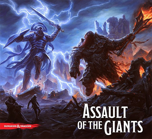 Portada de Assault of the Giants