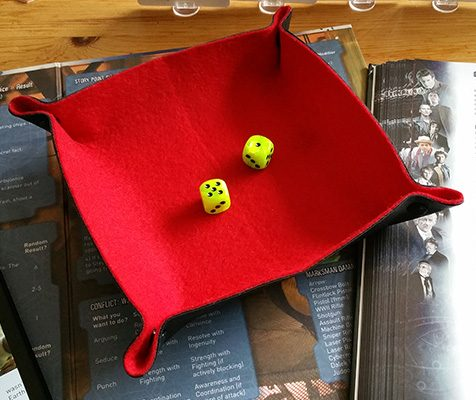 Dice Tray de All Rolled Up