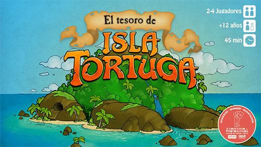 Portada de El tesoro de Isla Tortuga